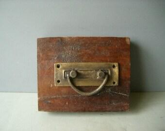 Solid Brass Hardware. Pulls / Handles.