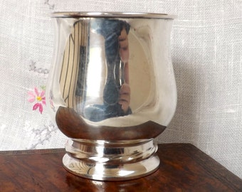 Towle Sterling Handleless Cup_Sterling Dedication Cup