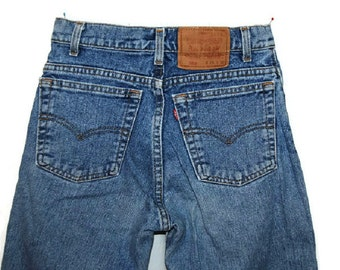 High waisted Levi's 550, W28/L30