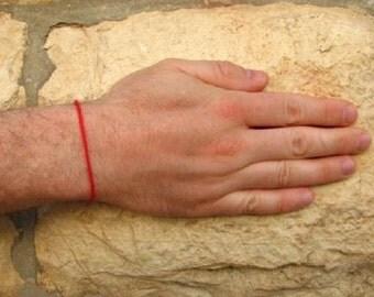 Authentic Kabbalah Red String Bracelet  Blessed in Rachel's Tomb in Israel