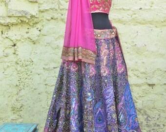 Indian Pakistani Wedding Dress Bridal Lehenga