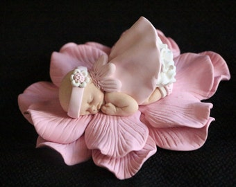 Polymer Baby Girl for Baby Shower