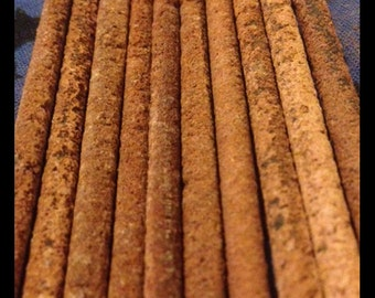 Patchouli and Dragon's Blood Incense, 10 Sticks  - Premium Resin Incense, Incense Sticks, Pure Essential Oils Free Shipping