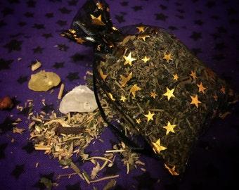 Banish and Dispel Herbal Sachet, Ritual Work