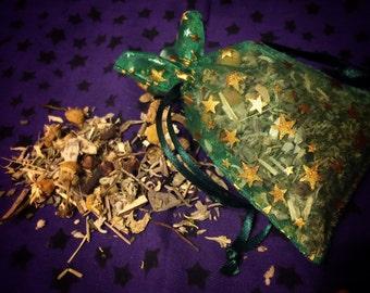 Abundance Herbal Sachet, Ritual Work