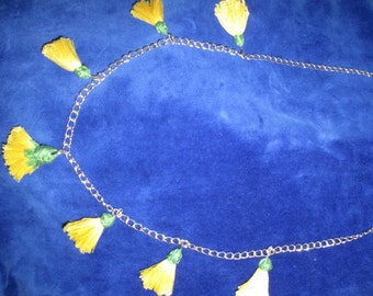 Beautiful dandellion necklace