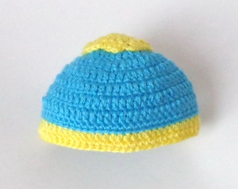 Eric Cartman Hat With FlatBall South Park Hat -Choose Your Character - Newborn to Adult Halloween / Cosplay Wig