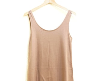 Beige Dress (055) Summer Dress Casual Dress