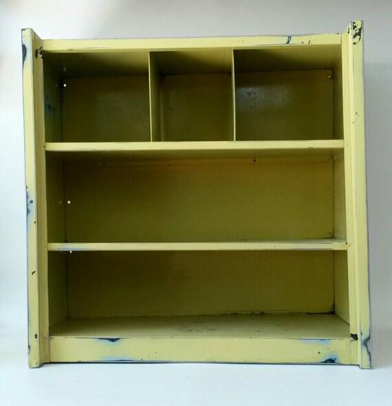 Industrial Metal Cabinet Distressed Rusty By MakingMidCenturyMod
