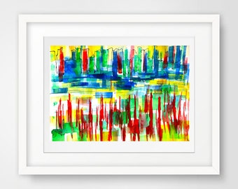 modern drawing, modern painting, abstract print art, modern art print, abstract giclee, modern giclee