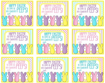 Happy easter printable gift tags merry christmas and happy new happy easter printable gift tags negle Choice Image