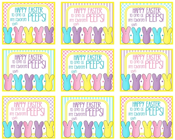 Lucrative image with easter labels printable