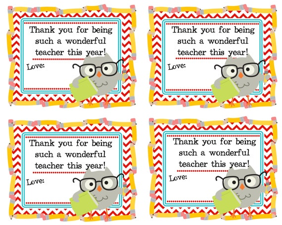 Exhilarating image inside teacher thank you printable