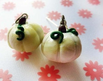 Glow in the Dark Pumpkin Earrings