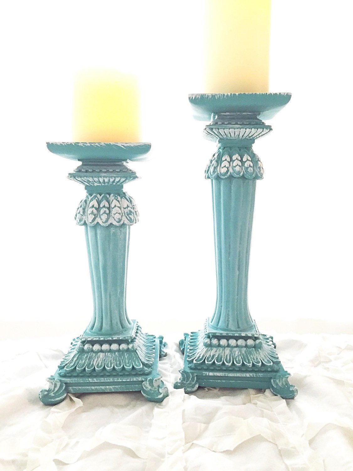Turquoise Candle Holder found in: Barbwire Candle Holders - Set of 3, Turquoise Wood Wall Candle Holder, Aztec Diamond Turquoise Candle Holder, Turquoise Feather Candle Holder, Crackled Turquoise Glass Candle Holder, Tequila Stave.