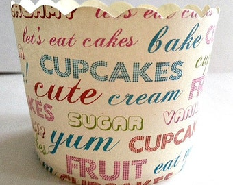 Baking Cup - Candy/Nut Cup - Bake, Baking, Candy, Nut, Cup, Cupcake, High Temperature Baking