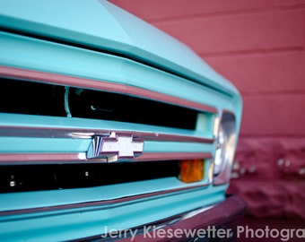 Old Blue Chevy Truck Photograph - Classic Car Photo - Vintage Trucks - Car Collector Art - American Cars - Wall Decor - Home Decor  - Blue,