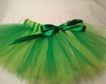 St Patricks Day Tutu, St Patricks Tutu, Green Tutu, infant tutu, baby tutu, newborn tutu, toddler tutu, preemie tutu, wedding tutu, tutu