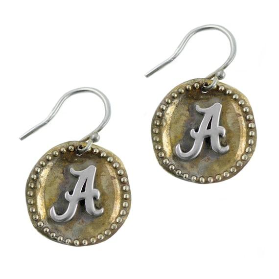 Alabama Charm Bracelet: Alabama Antique Coin Earrings University Of Alabama Jewelry