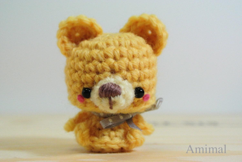 Amigurumi Mini Bear : Amigurumi mini Teddy Bear by Amimal on Etsy