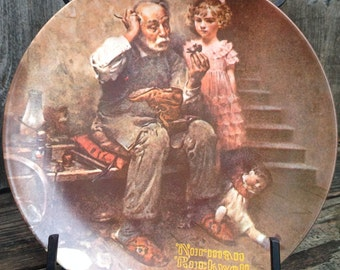 """The Cobbler"""" """"Heritage Collection"""" 1978 Norman Rockwell"""