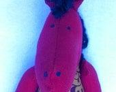"""WHOA NELLIE Soft Horse Doll - """"Bia"""""""
