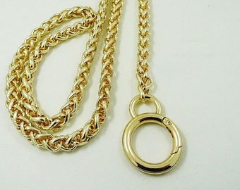 8mm wide light weight golden chains for purse,chain shoulder.chain for bag.
