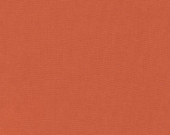 Kona Cotton in Terracotta - Robert Kaufman (K001-482)