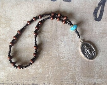 Medjugorje Peace Chaplet, Handmade Catholic Rosary