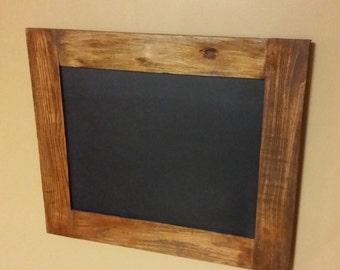 Rustic Chalk board,Rustic Decor,  21 x 18 ,Chalk board sign, wedding chalkboard, Home Decor, menu chalk board,Black board, Rustic Decor