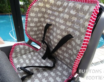 Beto Bike Seat Cover PDF Sewing Pattern