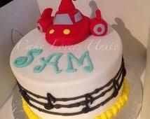 Little Einsteins Rocket inspired Cake Topper