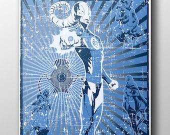 Lantern Propaganda: BLUE