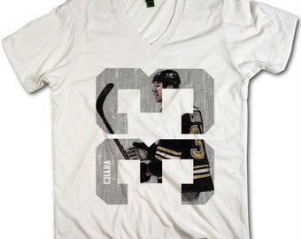 Zdeno Chara Officially Licensed NHLPA Boston V-Neck Mens XS-2XL Chara Sketch 33 S
