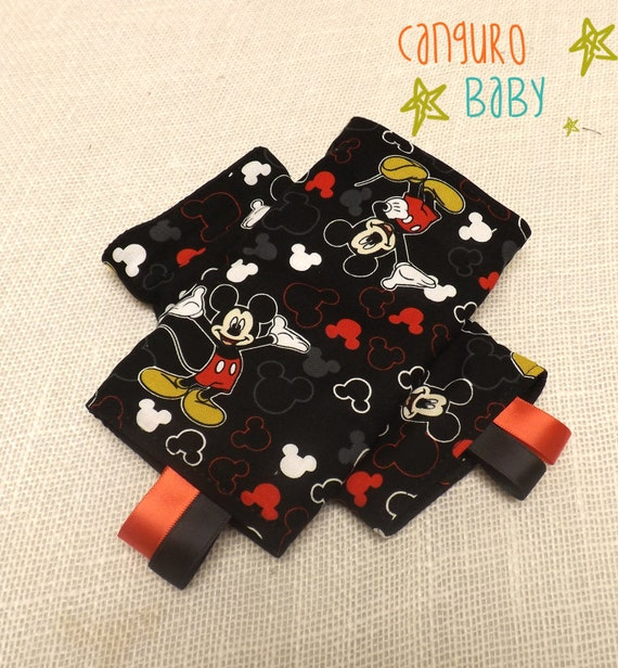 Mickey Mouse Sucking Teething Pads For Tula Ergo By