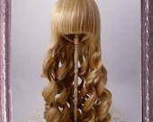 7 inch Doll Wig // Sweet Curl - Milktea // bjd wig // 7m02-milktea