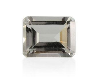 Green Amethyst Octagon Cut Loose Gemstone 1A Quality 9x7mm TGW 1.70 cts.