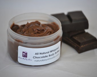 All Natural Whipped Chocolate Body Butter