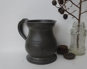 Gaskell & Chambers Cast Hotel/Pub PEWTER BEER TANKARD or mug,  late 1800's early 1900's.