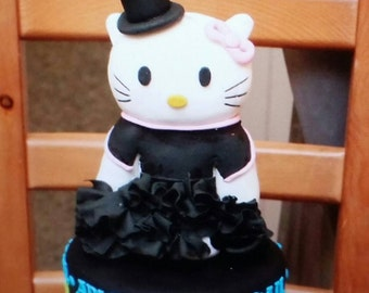 HELLO KITTY cake topper (keep sake)