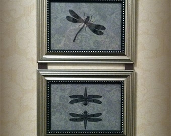 Dragonfly Wall Hanging Picture Collage Art