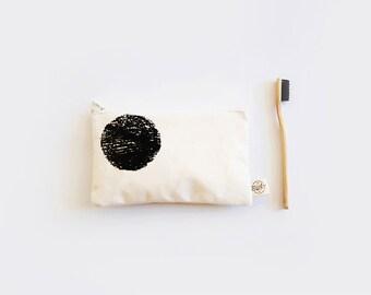 SALE!! KALMAR Cotton Case. Pencil Case. Pencil Pouch. Small case. Cosmetic case.