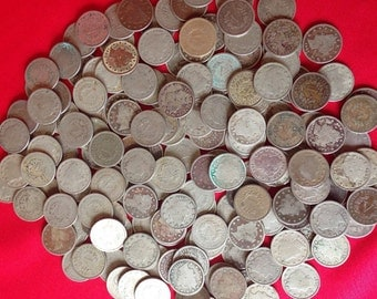 5 Liberty Nickels FULL DATE // Classic Old U.S. Coins 1883-1912 // 5c Five Cent Piece Antique Vintage Money