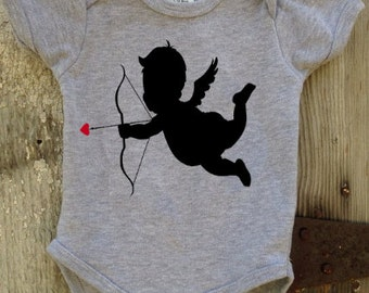 Cupid Valentine Bodysuit For Baby Boy