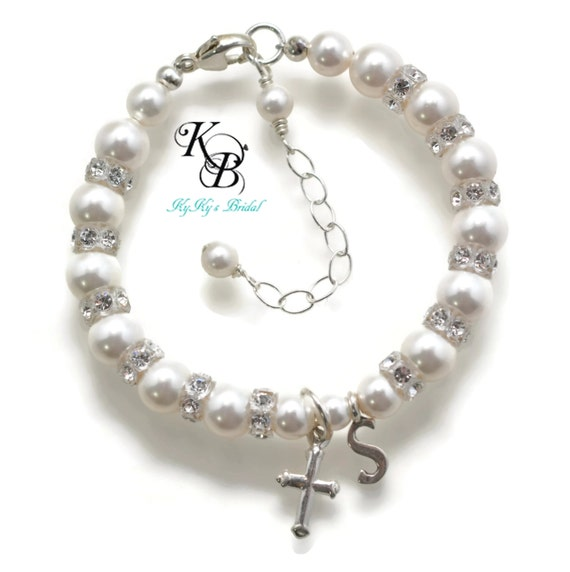 Baby Gifts Jewellers : Baby bracelet baptism gifts christening