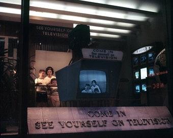 New York 63 64 NBC Building TV Radio Broadcast Show Magazine Editing Photo Vintage Look Arthur von Schwertfuehrer (1891-1967) Open Edition