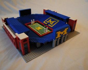 Michigan Stadium, Brick model