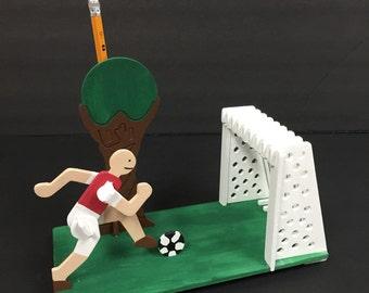 Soccer Pen Holder! 3D Wood Puzzle