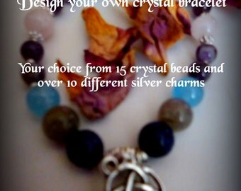 Your Own Individual Crystal Bracelet - Your Design