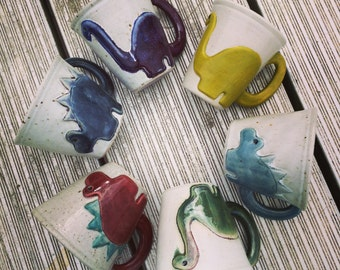 Dino Mug! Medium